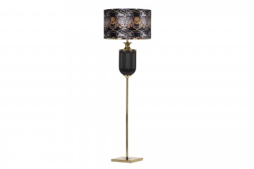 LAMPARA SUELO CRISTAL NEOBARROCA 50x50x165 CM