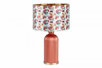 LAMPARA SOBREMESA CRISTAL SKULLCANDY 48x48x63 CM