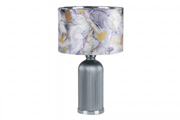 LAMPARA SOBREMESA CRISTAL MARBLE 48x48x63 CM