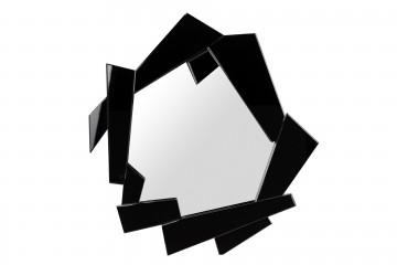 ESPEJO NEGRO XENIA 94,5x6x89,5 CM