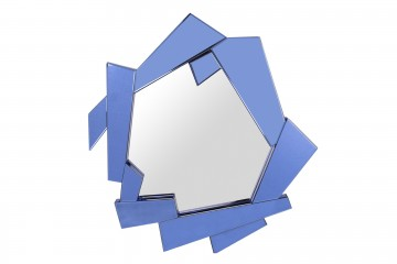ESPEJO AZUL XENIA 94,5x6x89,5 CM