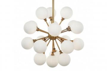 LAMPARA TECHO CON LED INTEGRADO  ZANTE 60x60x98 CM