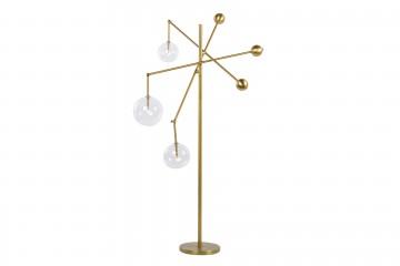 LAMPARA SUELO CON LED INTEGRADO IRVING 95x95x180CM