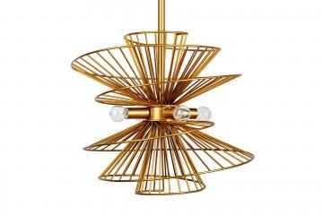 LAMPARA TECHO DELAWARE 46x46x126 CM