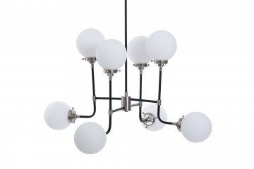 LAMPARA TECHO METAL NYBORG 90x90x108 CM
