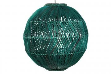 LAMPARA TECHO FIBRAS SEMARANG 45x45x45 CM
