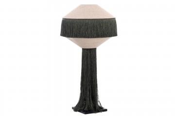 LAMPARA SOBREMESA CON FLECOS ELSINOR 31x31x61 CM