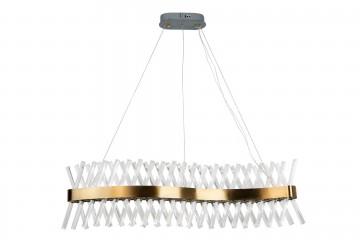 LAMPARA TECHO CRISTAL BRAKEL 100x32x25 CM